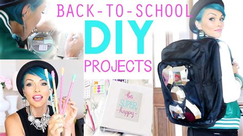 diy projects for high school back to school diy projects