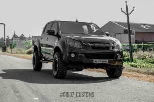 Isuzu Dmax Modifications Customised Isuzu D Max V Cross Looks Like A