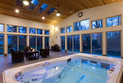 backyard ideas   michael phelps swim spa