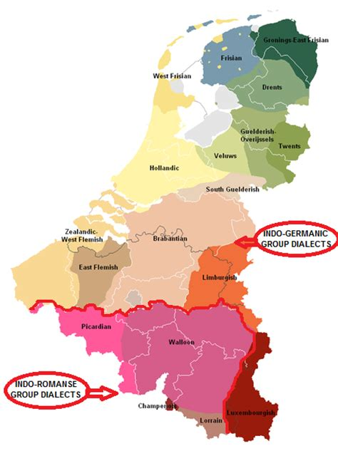 belgium language map languages of belgium indo european languages map