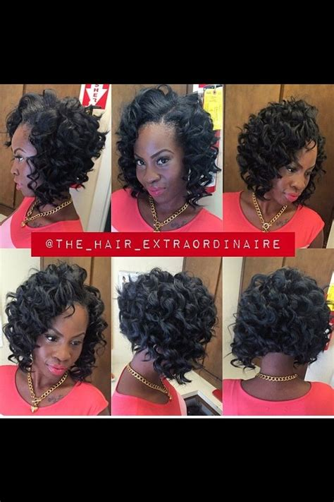 how to cut curly weave into a bob 17 best images about bad ass hairstyles on pinterest