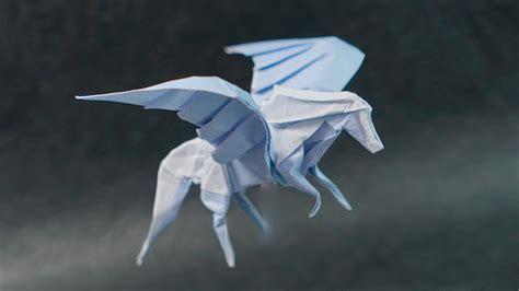pegasus origami origami pegasus 2 0 tutorial henry phạm