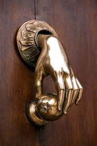 Cool Door Knockers Door Knocker Form Function Pinterest