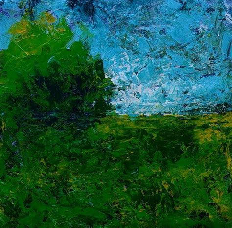 cubist landscape paintings abstract landscape painting in acrylic