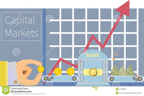 Mba In Capital Markets Part Time by Capital Markets Money Financial Trading Graphic To Royalty