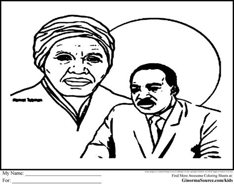 pin coloring page harriet tubman on pinterest