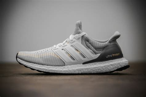 Adidas Ultra Boost White 1 adidas ultra boost white and gray sneaker hypebeast