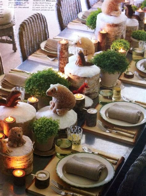 cute holiday table styling by martha stewart christmas