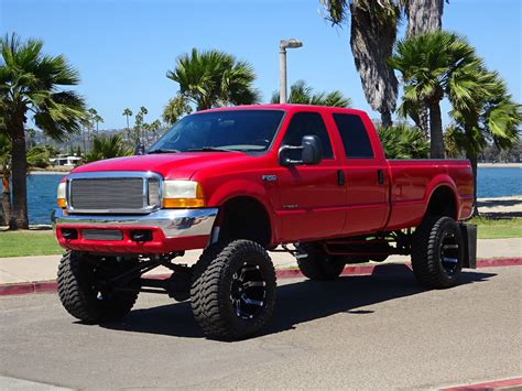 f250 long bed 2000 ford f 250 xlt crew cab lifted custom for sale