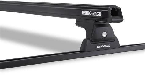 Rhino Rack Heavy Duty by Heavy Duty Rlt600 Trackmount Black 2 Bar Roof Rack Rhino