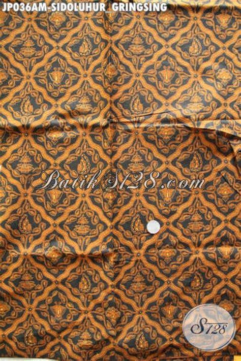 Batik Tulis Asli Motif Gringsing Kimpul kain jarik batik klasik motif sidoluhur gringsing buatan