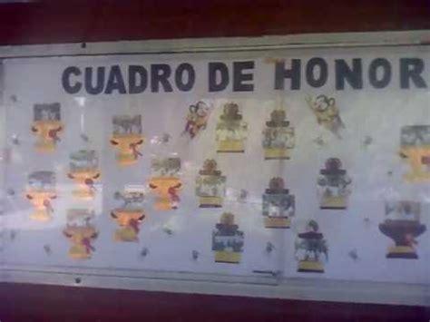 mensaje de cuadro de honor certificado cuadro de honor 2012 youtube
