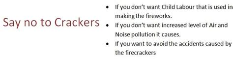 Say No To Crackers Essay In by Diwali Without Crackers Essay Writefiction581 Web Fc2