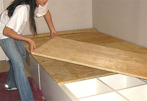 how to make a boat bed how to make your own diy storage bed inhabitat green