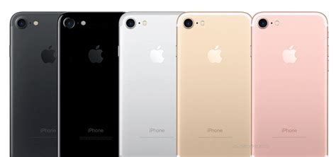 7 iphone colors iphone 7 release date options colors and sizes and android slashgear