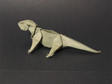 Origami Gecko - zing origami animals beasts and creatures