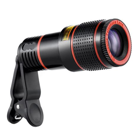 samsung zoom mobile 12x zoom mobile phone lens clip on telescope lens