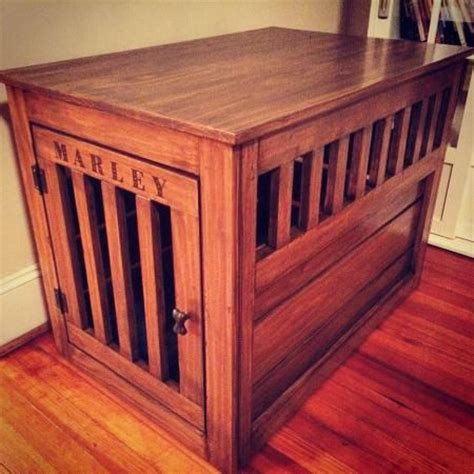 dog crate end table diy dog crate furniture plans woodworking projects plans
