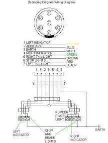 trailer wiring connector diagram