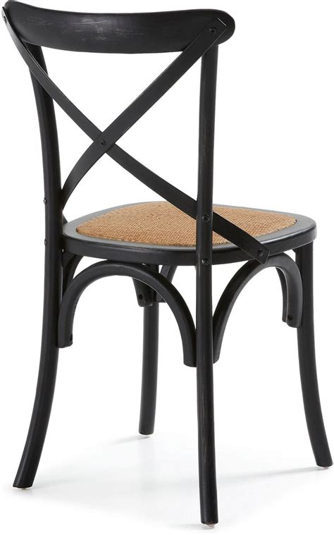 stuhl schwarz holz stuhl alsie schwarz holz la forma kaufen