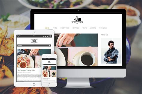 hugo themes blog hugo stylish wordpress blog theme wordpress blog