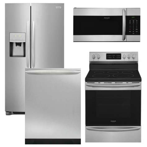 frigidaire kitchen appliance packages fg4pcfsfd30efisskit2 package fg1 frigidaire appliance gallery package 4