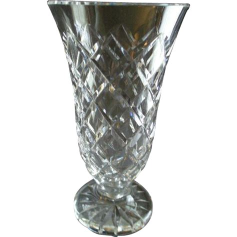 Waterford Vase Patterns by Waterford Quot Kinsale Quot Pattern Vase From Brysantiques