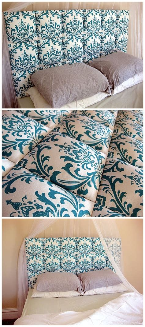 easy diy fabric headboard 445 best images about bedrooms on pinterest upholstered