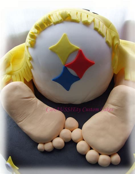 Baby Shower Pittsburgh by Pittsburgh Steelers Baby Shower Cake Cakecentral
