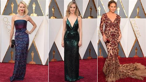 Es Oscar Carpet Coverage by Oscars Carpet Fashion Trends And Hits And Misses