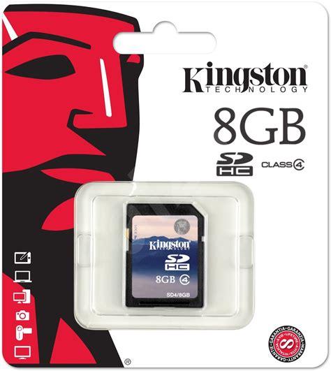 Memory Card Hp 8gb kingston 8gb sdhc class 4 memory card alzashop