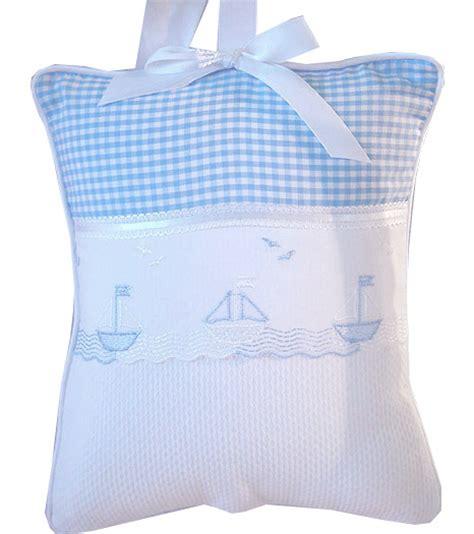 blue gingham crib bedding gingham sailboats embroidered crib bedding by blauen