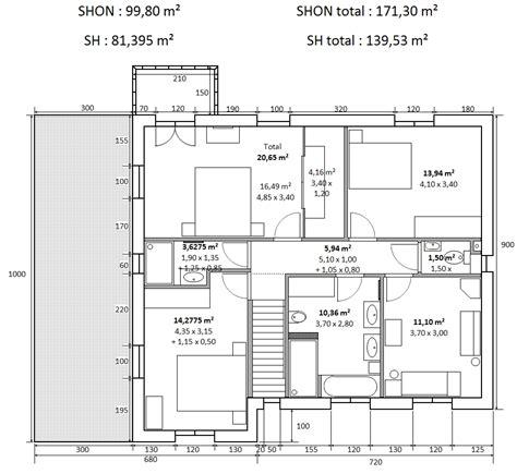 plan de maison r 1 avec garage