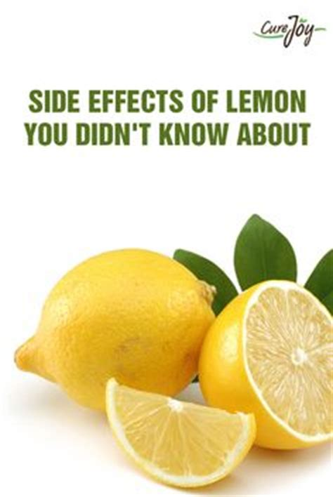 Lemon Detox Side Effects by 1000 Images About Lemons And Limes Lemon And Lemon
