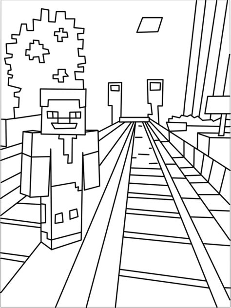 minecraft castle coloring page drawn book minecraft pencil and in color drawn book