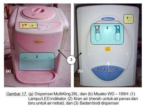 Dispenser Miyako Type Wd 189h perawatan dan perbaikan dispenser