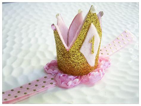 gold crown headband girls or boy s birthday by pink baby girls birthday crown headband tiara cake smash