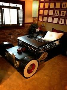 Toddler Car Bed With Roof 1000 Images About Jaxon S Rat Rod Room On Rat