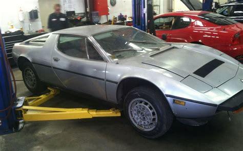 Find By Ss 1978 Maserati Merak Ss Garage Find