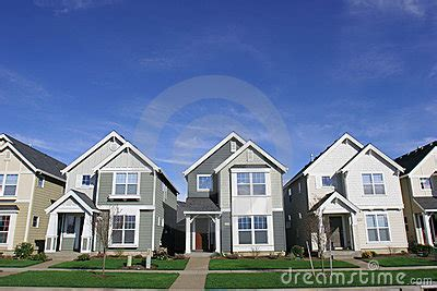 City Homes by City Houses Stock Photos Image 671173