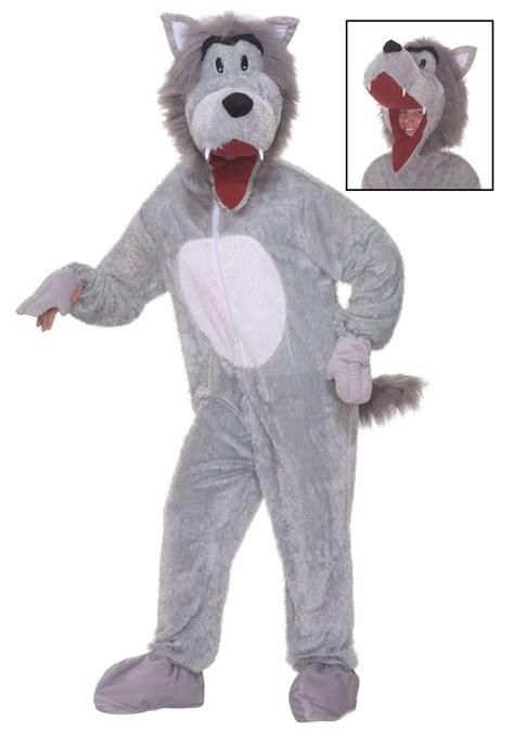 wolf costume plush storybook wolf costume