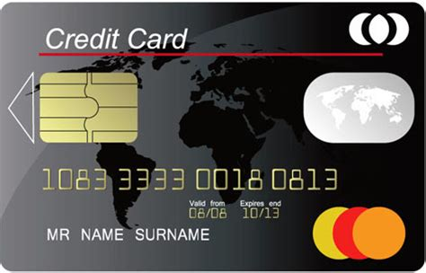 Visa Credit Card Template Vector Credit Card Free Vector 12 481 Free Vector For