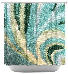 Unique Shower Curtains Shower Curtain Unique From Dianoche Designs Mosaic Swirl Contemporary Shower Curtains