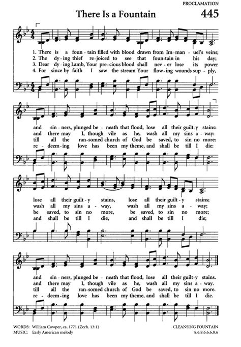 There Is a Fountain - Hymnary.org