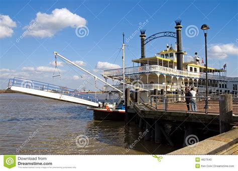 boats unlimited new orleans new orleans river boat at dock stock photo image of