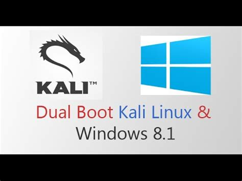 kali linux tutorial windows 7 dual boot kali linux 2 0 with windows 8 10 funnydog tv