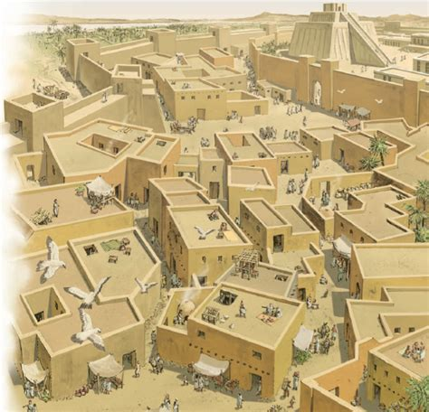 imagenes de viviendas egipcias el crecimiento de las ciudades en mesopotamia aprenda