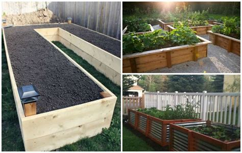 diy     beautiful raised garden bed