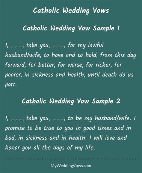 mass readings for wedding catholic 25 best ideas about traditional wedding vows on