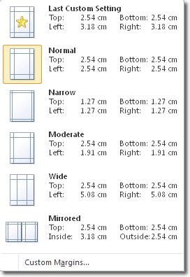 How To Set Margin In Word Document